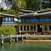 Mansion on Scotland Island on Sydney's Pittwater.