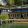 Mansion on Scotland Island on Sydney's Pittwater.