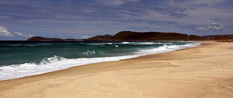 Seven Mile Beach, Booti Booti National Park near Forster NSW
