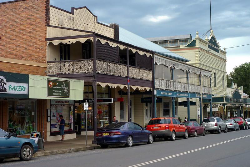 Main street of Belengen NSW. We stayed the night here.