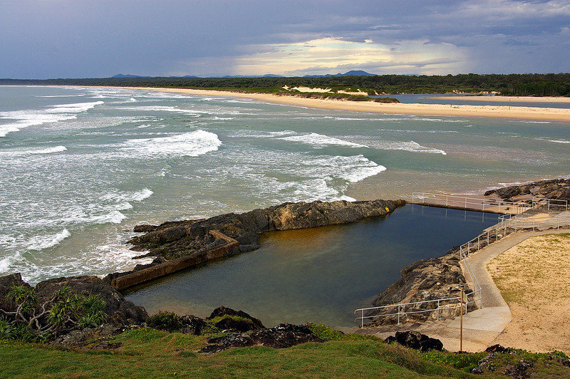 Sawtell Beach and Ocean Pool