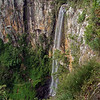 Waterfall in Springbrook National Park at the back of the Gold Coast.