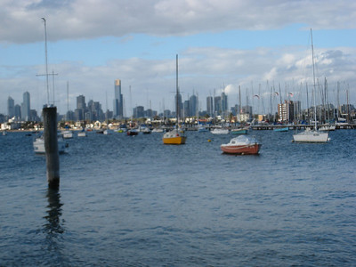 Melbourne from the coast