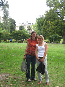 The Fitzroy gardens  :)
