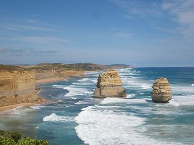 The other side of the 12 Apostles