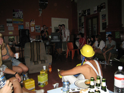 Karaoke at Coffee Palace Backpackers