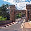Hampton Bridge in the Kangaroo Valley. It's the oldest bridge in Australia 1898.