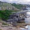 Waverley Cemetery on the Bondi to Coogee walkway.