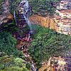 Wentworth Falls in the Blue Mountains