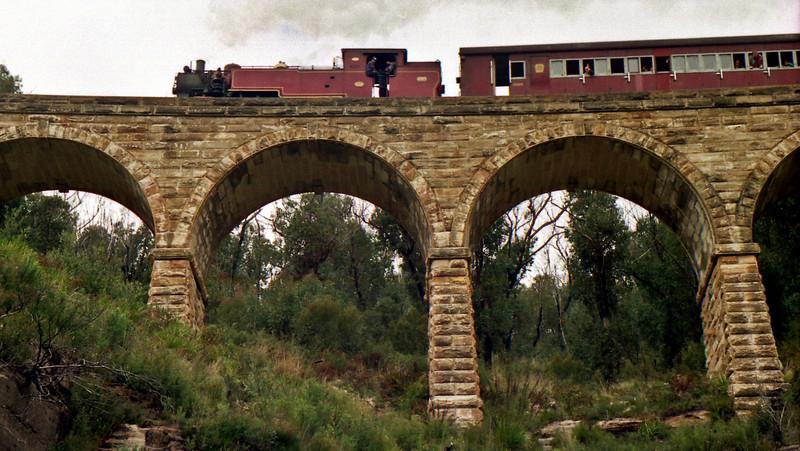The Zigzag Railway.
