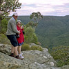 Brian and Robyn at Morton National Park near Bundanoon.