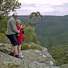 Brian and Robyn at Morton National Park near Bundanoon.