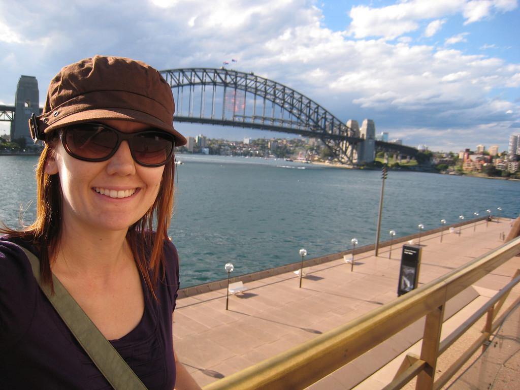 Selfie at the Sydney Harbor bridge