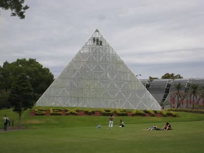 Within the Botanical Gardens
