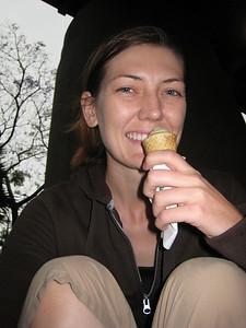 Yummy ice cream at the Circular Quay