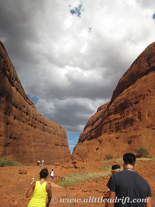 Hiking through Kata Juta