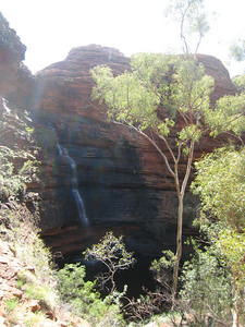 Waterfall at Kings Canyon