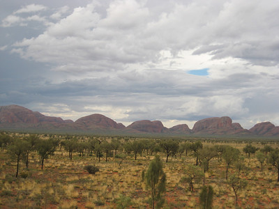 Storms Brewing over Kata Juta