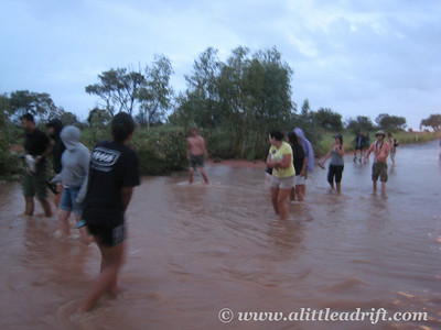 Flooding in the Outback