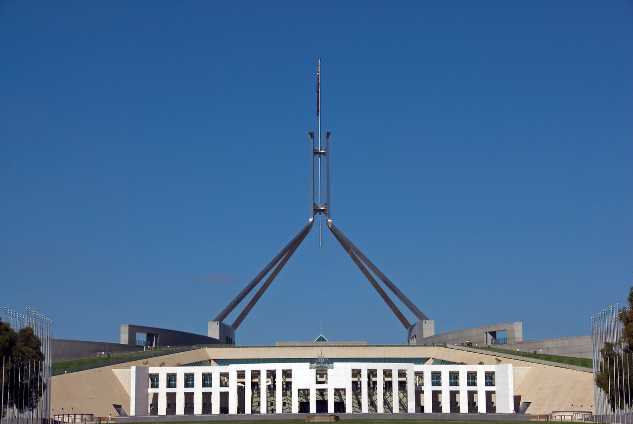 Parliment Building - Canberra, Australian Capital Territory