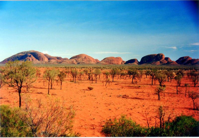 The olgas nr Uluru/Ayers Rock