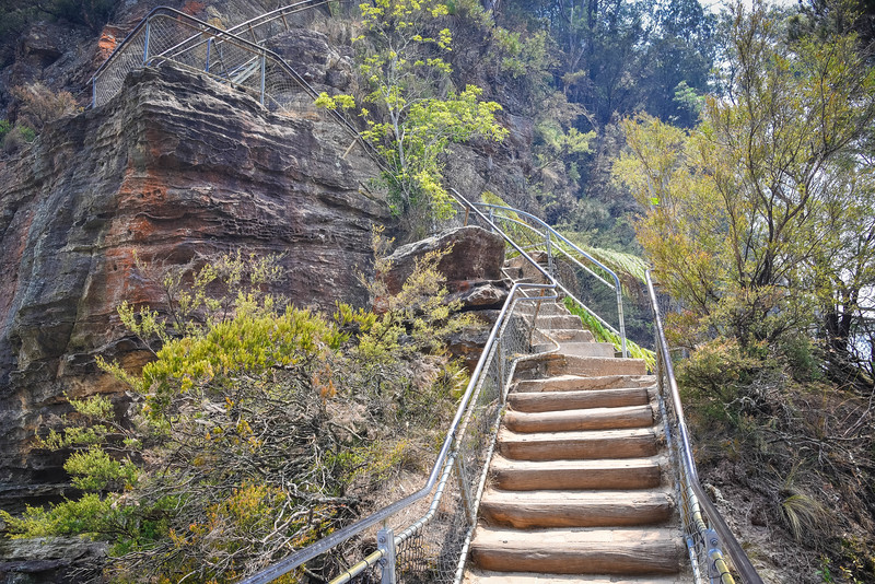giant stairway blue mountains