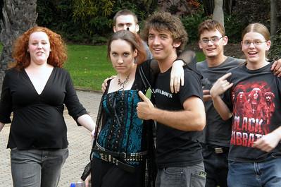 Goths in Brisbane - November 2007