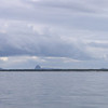 The Glasshouse Mountains - same view seen by Captain Cook...