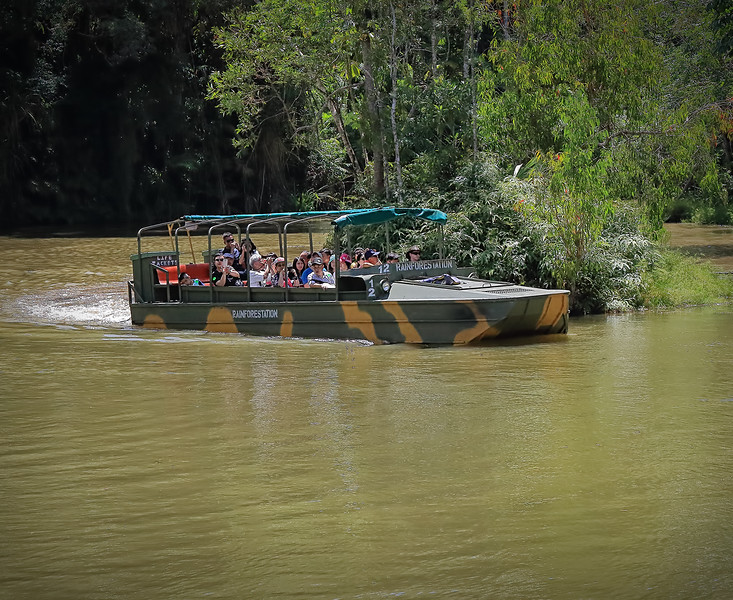 Kuranda Station Duck Boat