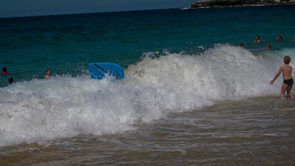 School holidays at the beach
