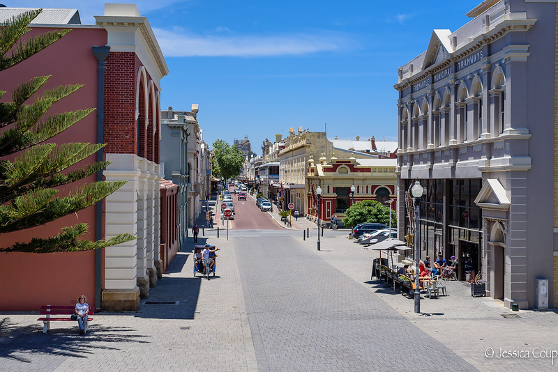Laid Back Streets of Fremantle