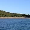 Empty beach at Hexham Island
