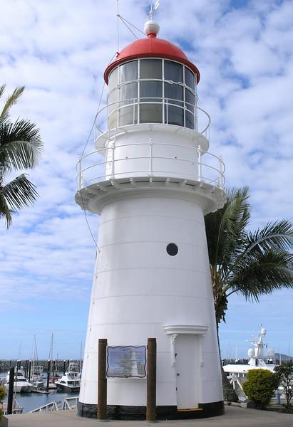 Old lighthouse at Mackay Marina