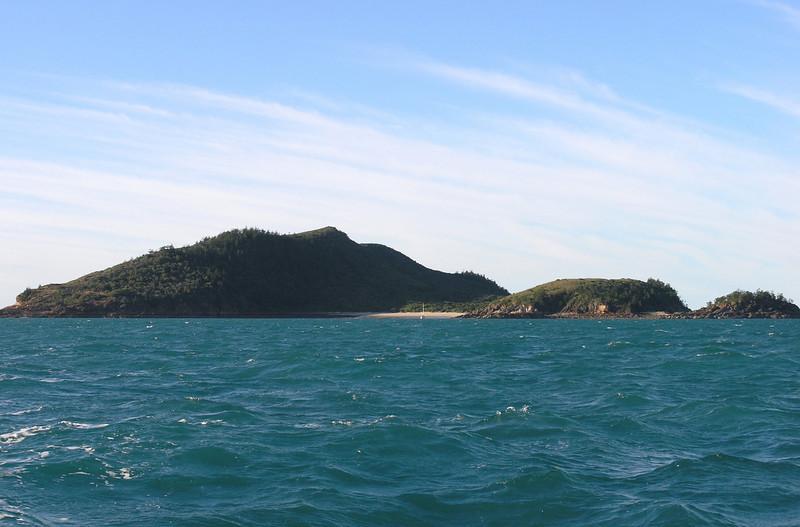 Curlew Island anchorage