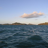 Curlew Island and 2 other small islands from about a mile away.
