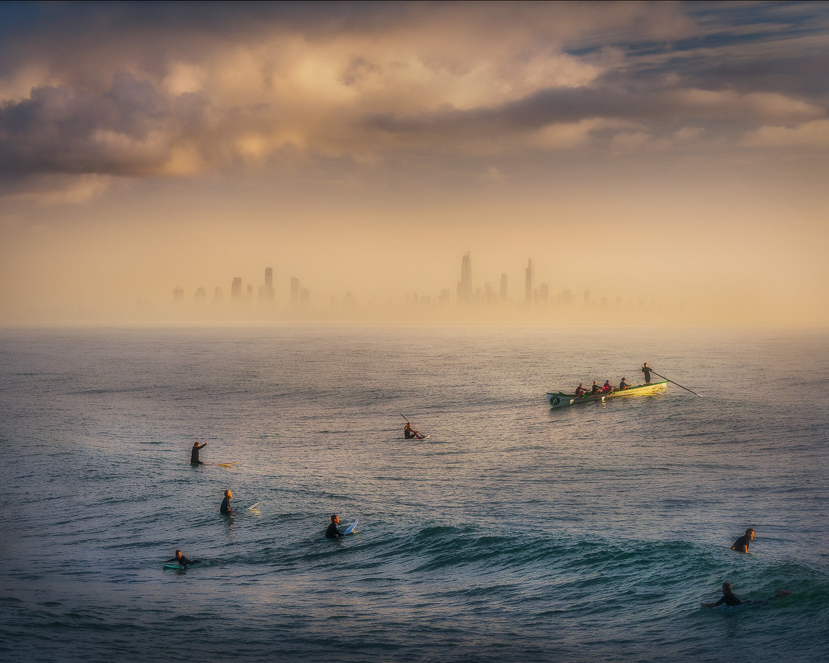 The gold coast from Currumbin - and a farewell!