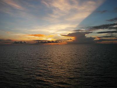 01  Sunrise on Great Barrier Reef