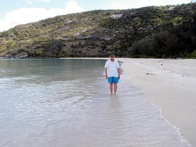 23  Reagan on Lizard Island