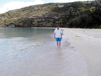 24  Reagan on Lizard Island