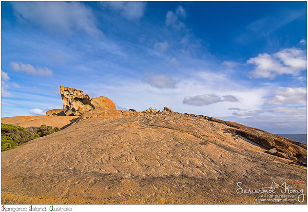 @ Remarkable Rocks, Flinders Chase National Park on Kangaroo Island