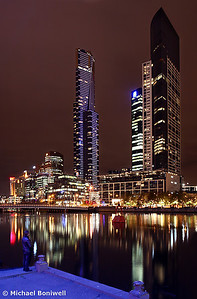 The Yarra By Night, Melbourne, Victoria
