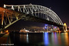 Sydney Harbour Bridge at Night, NSW
