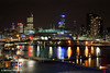 Docklands By Night, Melbourne, Victoria