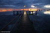 A Winter's Dawn on the Pier, Victoria