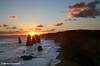 """The Twelve Apostles"" Sunset, Great Ocean Rd, Victoria"