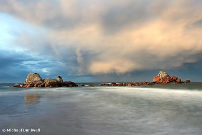 Picnic Rocks, Eddystone Pt, Tasmania