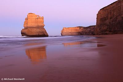 Gibson's Steps Dawn, Twelve Apostles, Great Ocean Road, Victoria, Australia