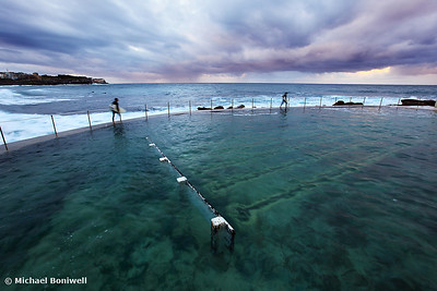 Bronte Beach Baths, Sydney, NSW, Australia
