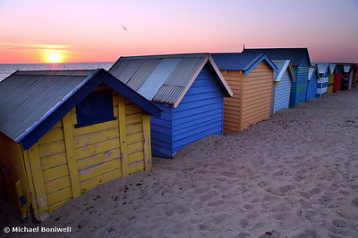 Brighton Beach Boxes. Victoria