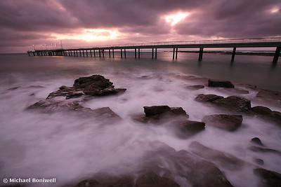 Lorne Pier Dawn, Great Ocean Road, Victoria, Australia